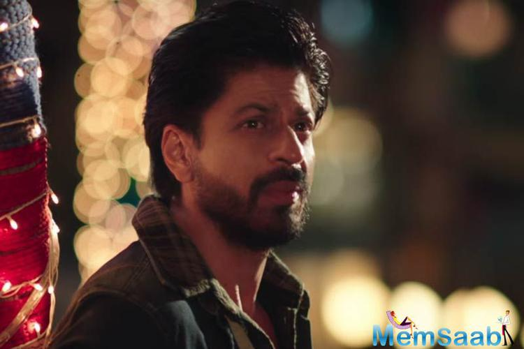 King Khan in the video was seen grooving amid a bunch of people, who seemed to be his crew.He even shared the first look of himself from the upcoming movie The Ring.