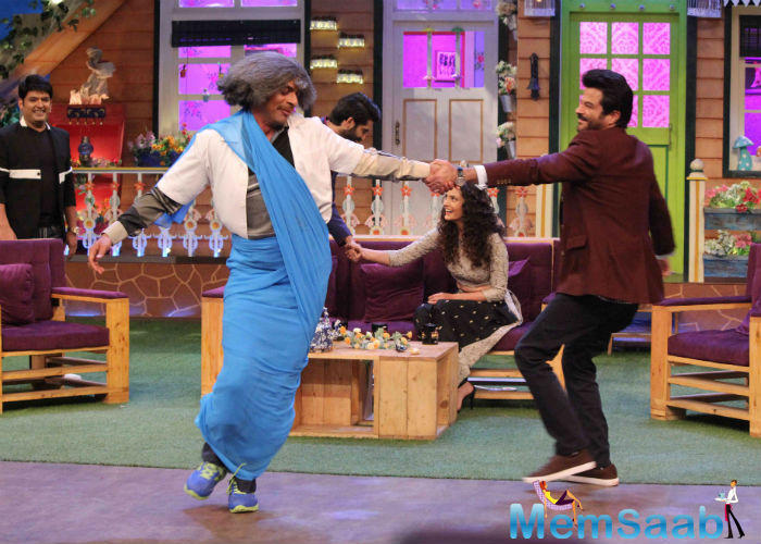 They are attended The Kapil Sharma Show, Anil Kapoor was extremely involved in the films's promotion at the television show. Here is the proof.