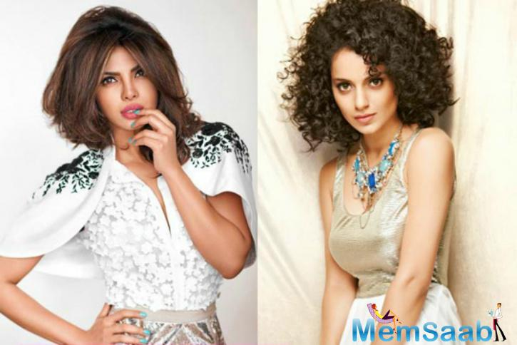 Recently, a source has said that not Kangana Ranaut but Priyanka Chopra should win the 'Woman of the year' Award.