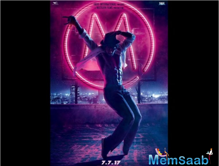 Actor Tiger Shroff who is popular in Bollywood industry has shared the first look of his forthcoming dance drama, Munna Michael.