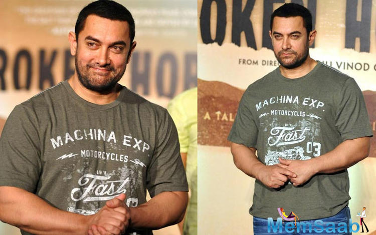 Aamir Khan, who was seen beefing up for his role in Dangal since the past few months, is now a far cry from his bulky self. The film is being directed by Nitesh Tiwari