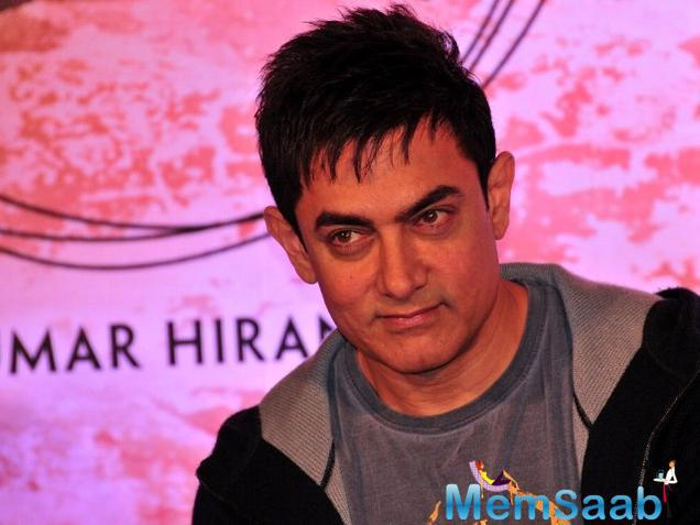 Aamir Khan will not be playing the lead role in the flick .The pictures of Aamir Khan Secret Superstar gone viral on the internet. According to box office India, the film schedule is completed in Mumbai