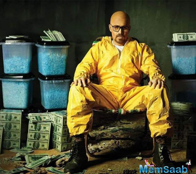 He photoshoot as Heisenberg aka Walter White, who is a fictional character and the main protagonist of Breaking Bad, portrayed by Bryan Cranston.
