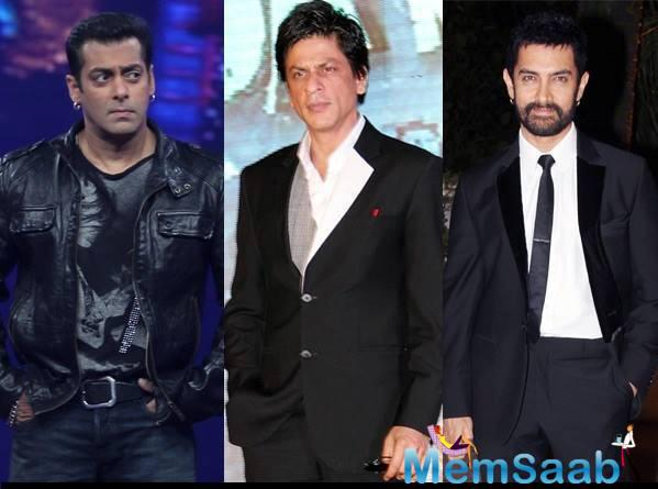 Salman, SRK and Aamir have been the most successful stars of the film industry for the two decades now, and fans are more excited to see them together, but it's not happening as yet.