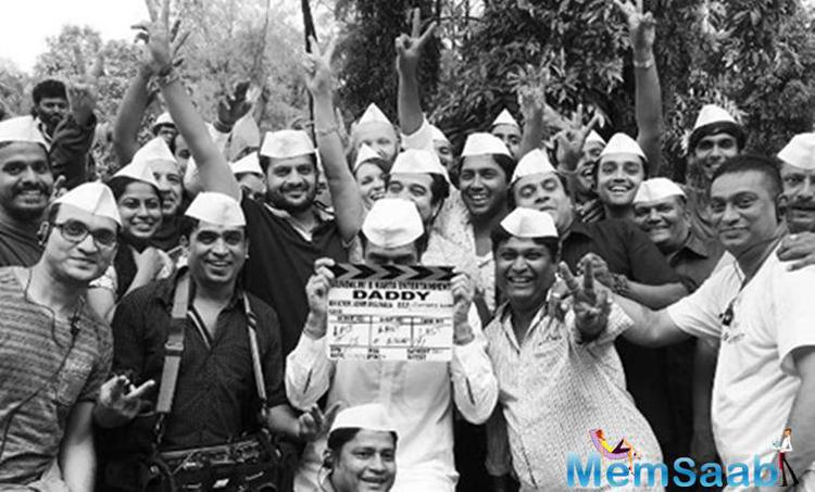 Arjun Rampal, here wrapped up the shoot of his upcoming flick Daddy, which base on the life of gangster Arun Gawli.