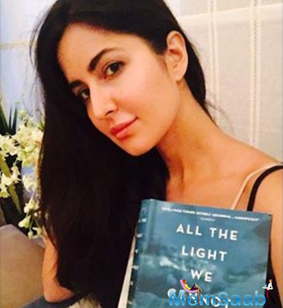 Fitoor actress Katrina Kaif recently posted a cryptic message on social media along with a picture of her holding up an Anthony Doerr's novel, 'All the Light We Cannot See.'