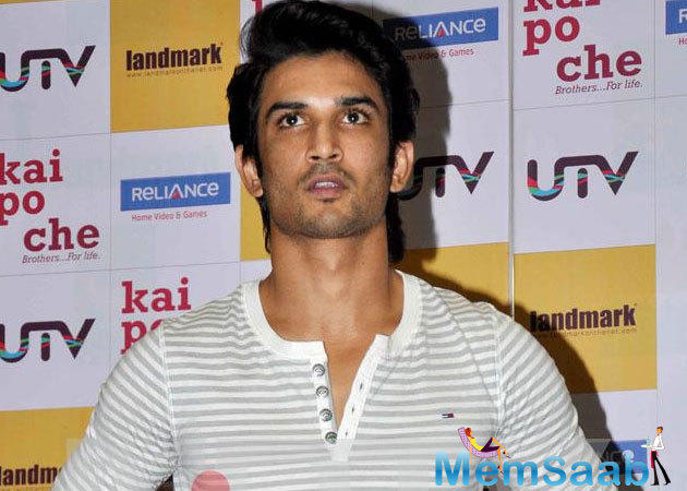 """Sushant says that he was instantly appealing to the sportsman's story. """"The moment I heard his story, I was on,"""" he pronounces. """"I desired to do it without a second thought."""