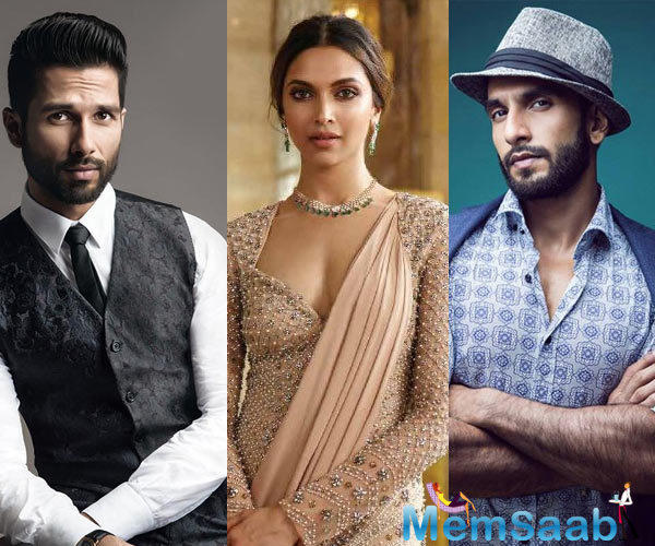 "Making the announcement on Twitter Viacom 18 movies' CEO Sudhanshu Vats writes, ""With @deepikapadukone, @RanveerOfficial & @shahidkapoorin the lead, we are surely excited about @RealPadmavati""."