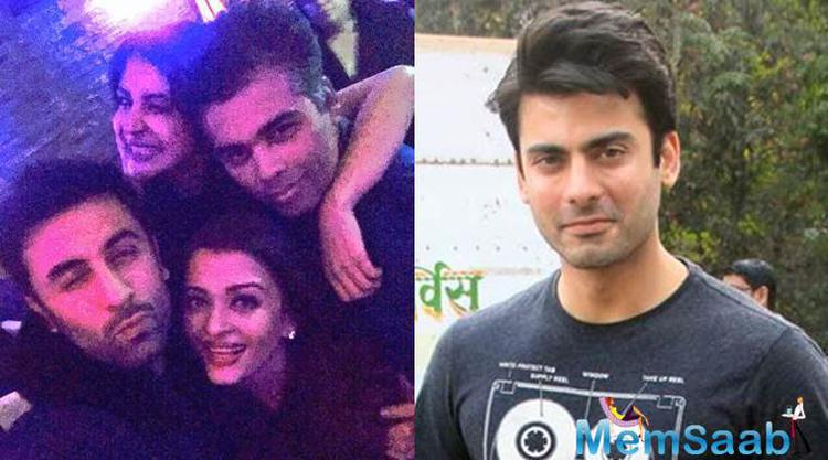 Recently there was a news that Fawad Khan is replaced in Karan Johar's Ae Dil Hai Mushkil.
