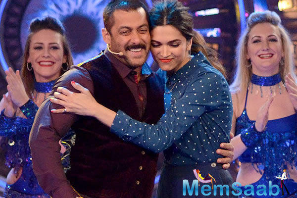 Here a double treat for fans of Deepika and Salman, the opening episode of Bigg Boss 10 will show you Salman and Deepika sizzling Chemistry and  xXx : Return of Xander Cage trailer.