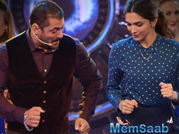 This Sunday will happen a double dhamal on the set of  Bigg Boss 10, host Salman will launch the much awaited trailer of Deepika's big Hollywood debut film, xXx : Return of Xander Cage where she is starring opposite Vin Diesel.