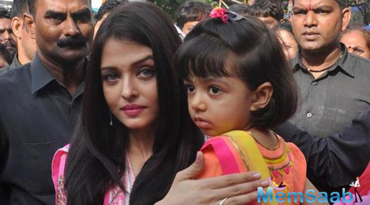 Aishwarya speaks her heart out on her daughter Aaradhya .The actress has said that her daughter Aaradhya is an angel who keeps the child in her alive.