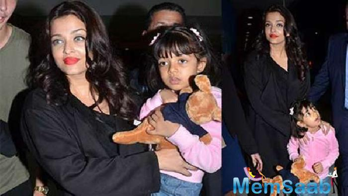 Aishwarya words at a recent event being girlish is easy. Having a lovely little girl like Aaradhya in my life, that angel keeps the child in me alive.