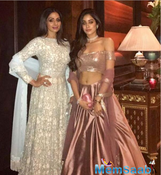 Actress Sridevi and producer Boney Kapoor's daughter Jhanvi Kapoor is already a star on social media