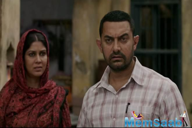 Finally, the trailer of  Aamir Khan starrer biographical sports drama 'Dangal' is out, it is high on passion, love and girl power!