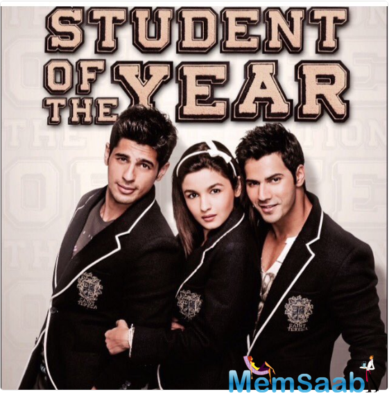 New debutants like Alia, Varun, and Sidharth Malhotra rose to fame. Student of the Year was released on 19 October 2012 in over 1400 locations across India.