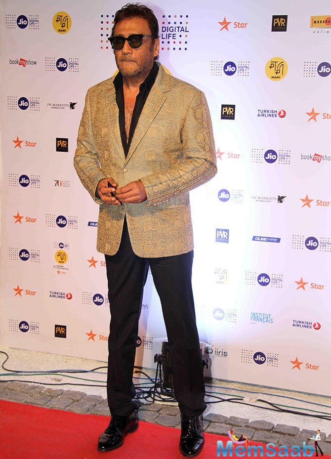 Jackie Shroff, who will next be seen in Sarkar 3 as an antagonist, has given a special appearance