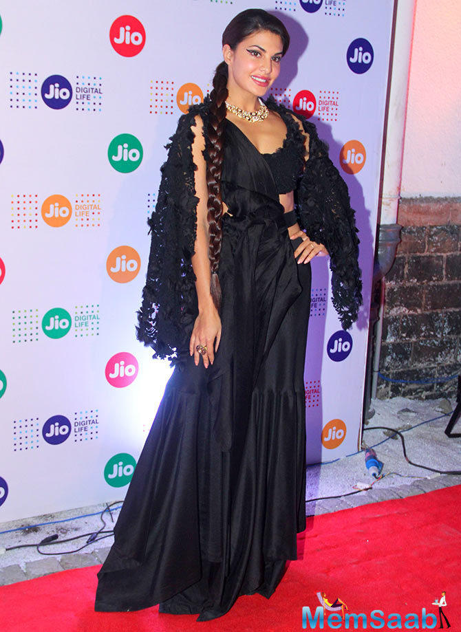 Jacqueline, who is currently working on her untitled next with Sidharth Malhotra, also attended 18th edition of the Jio MAMI Mumbai Film Festival