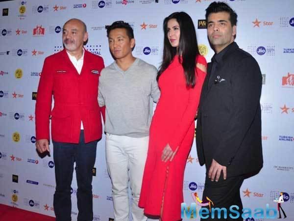 Katrina Kaif, Karan Johar, Christian Louboutin and Prabal Gurung attended the 18th Jio MAMI Mumbai Film Festival