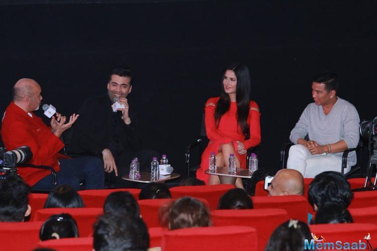 Katrina Kaif,Karan Johar,Christian Louboutin and Prabal Gurung discuss about Fashion and Films here