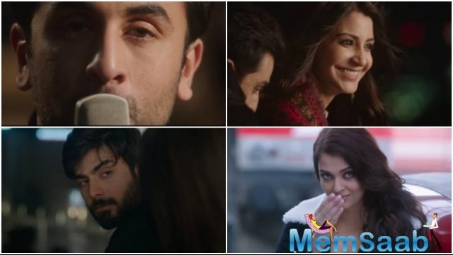 Ranbir's onscreen friendship with Anushka and his sizzling chemistry with Aishwarya also became a talking point among film fans.
