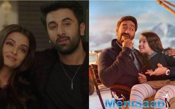 ADHM beats Shivaay in the day one collection at the box-office, ADHM earns Rs 13.30 Cr, while Shivaay gathers Rs 10.24 Cr.