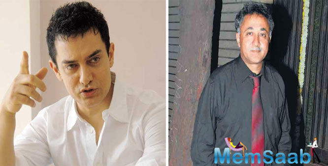 Mansoor Khan, who maintain a space from direction for a few years, cousin Aamir Khan wants to get back him to film making.