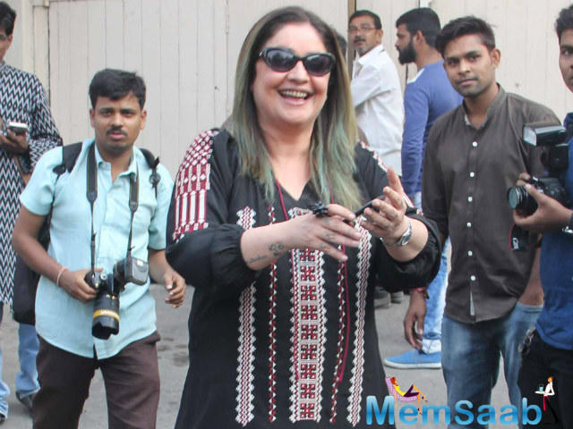 However, Pooja Bhatt headed out to Karachi and celebrated Diwali in the Pakistani city.