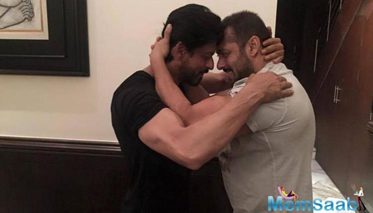 Here is a good news for Salman and SRK fan's, the two superstar's will come together for Kabir Khan's next titled Tubelight.