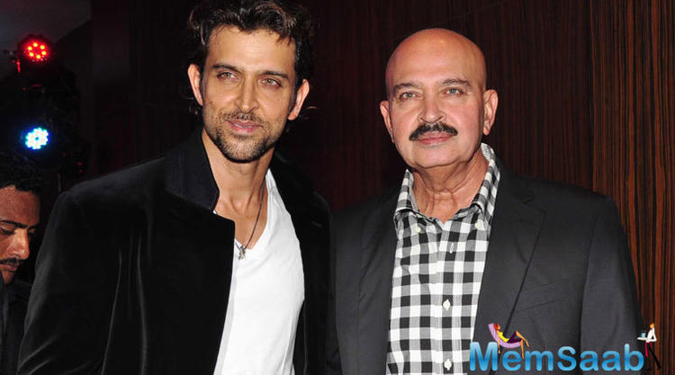 Mr. Roshan refuted rumours of Hrithik and him being involved in the making of 'Kaabil' as it was completely 'Sanjay Gupta's baby'.