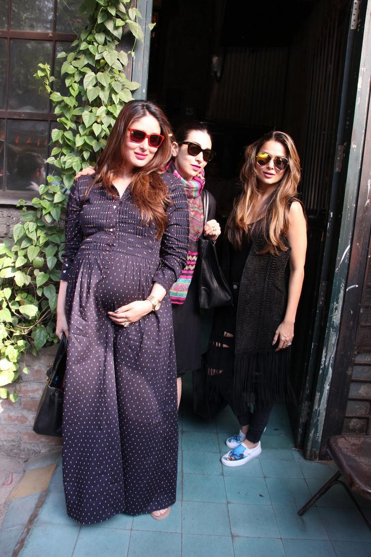 Kareena Kapoor Khan will welcome her first child with husband Saif Ali Khan in December.