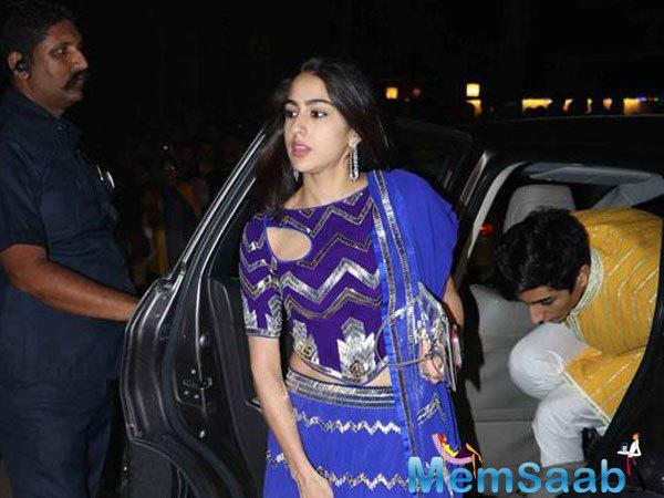 Sara Ali Khan (daughter of Amrita Singh) might make her debut opposite Ranveer in Zoya's Gully Boy.