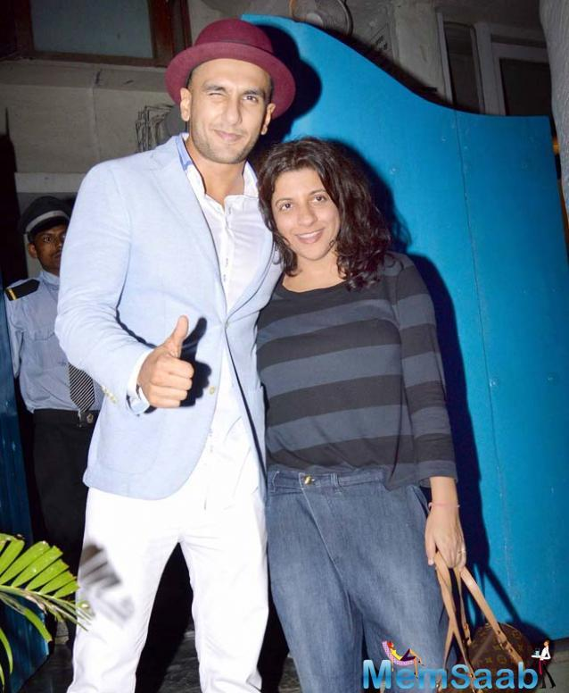 Zoya Akhtar has been working on her coming-of-age flick, 'Gully Boy,' set Ranveer Singh as the lead actor, might have found her leading lady in Sara, reportedly.