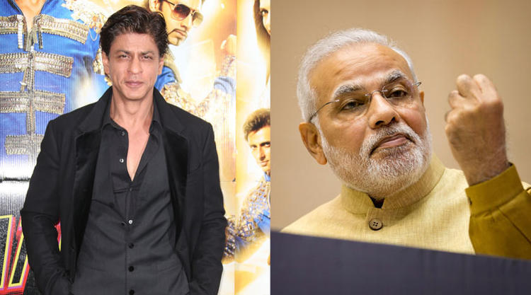 Bollywood King Khan has praised Indian Prime Minister Narendra Modi's decision to demonitize Rs 500 and Rs 1,000 currency notes to curb black money.