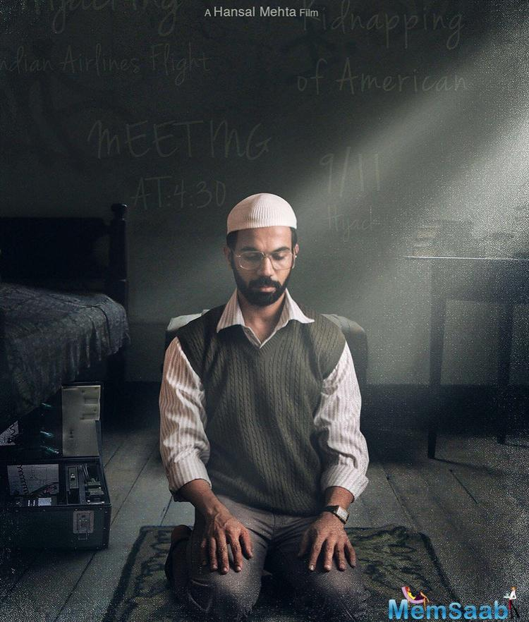 Earlier this year, Hansal had shared a picture from Rajkummar's look test for 'Omerta'.
