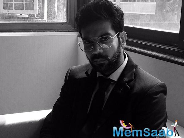 Here is the first look of Rajkummar Rao's upcoming 'Omerta'.