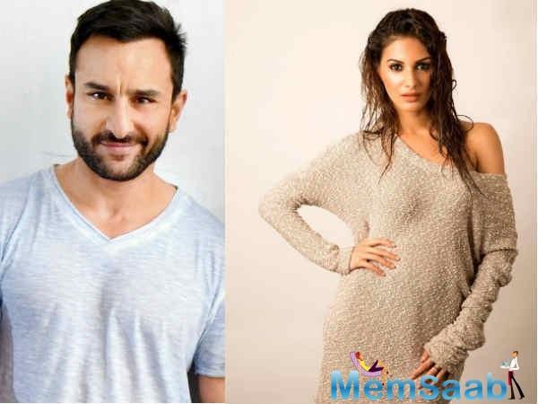 Apart from Saif and Amyra Dastur, the film also stars 'Raman Raghav 2.0' actress Sobhita Dhulipala.