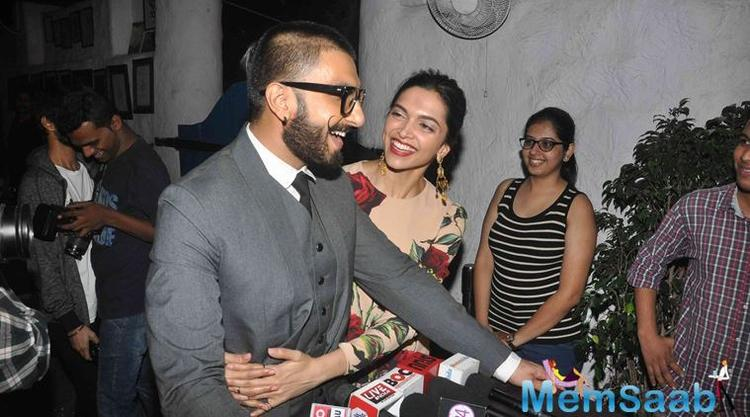 Recently, there it was a report that  Deepika and Ranveer  break up their relationship .