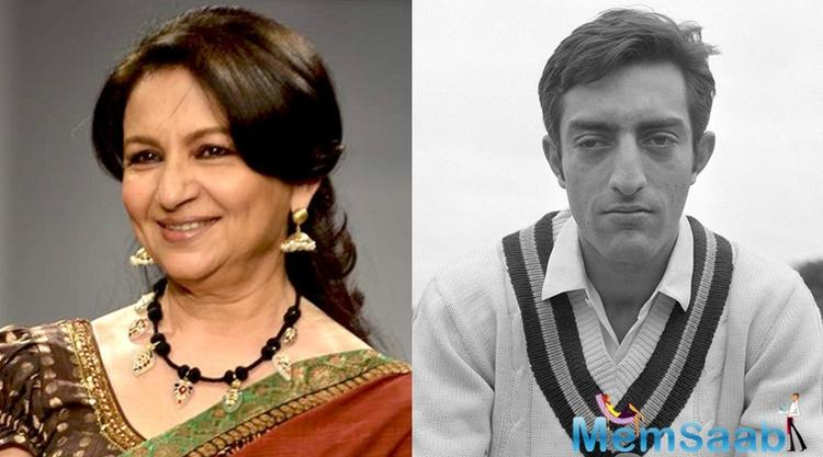 His career as a cricketer and his love story with Sharmila Tagore seems to be a good narrative of a movie. Even his wife Sharmila Tagore thinks so!