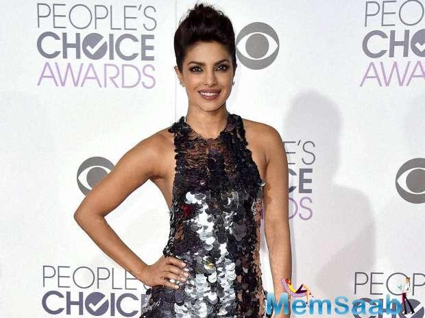 Priyanka Chopra, who is now more popular in Hollywood, here again got a chance to select in People's Choice Awards 2017.