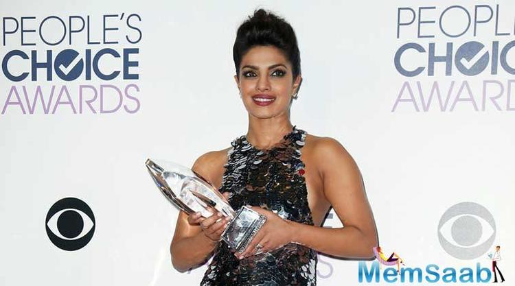 Reportedly, the former Miss World Priyanka Chopra, has been nominated for People's Choice Awards' in the Favourite Dramatic TV actress category for her American series' second season.