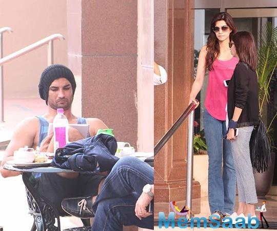 Earlier this year, the rumor was that, Sushant Singh Rajput and Kriti Sanon probable is in a relationship.
