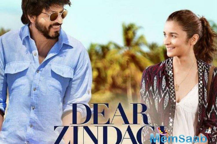 Alia Bhatt seems to be still musing over life in a most recent still with SRK from their movie Dear Zindagi. Bollywood celebs were wowed by SRK charm and Alia performance