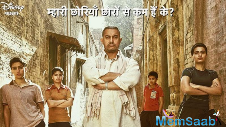 Aamir Khan's much awaited Dangal shows the life of a wrestler and his hard work. Dhaakad is the second song released from the film so far. Sung by Raftaar and composed by Pritam, Dhaakad hit the internet on Wednesday
