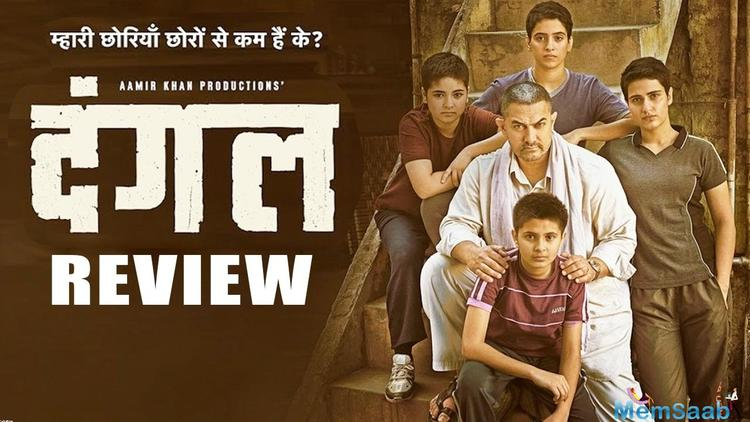 'Dangal', directed by Nitesh Tiwari  who has previously directed the films like Bhoothnath Returns and Chillar Party.
