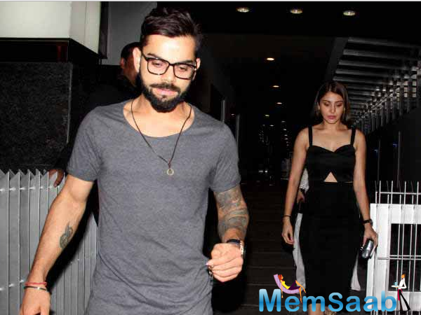 Recently, they have seen  together at Virat Kohli's birthday, also caught at various events. Here they clicked in Mohali