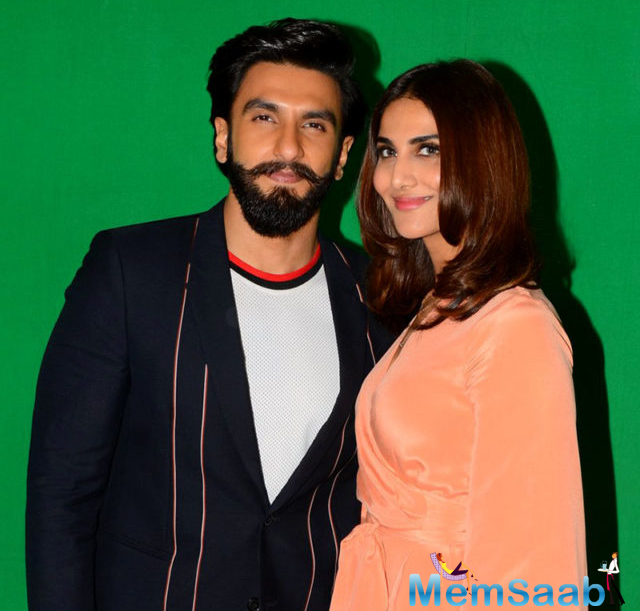 Vaani is busy promoting 'Befikre' that also stars heartthrob Ranveer Singh in lead role. This is the first time for the actors to pair on-screen.