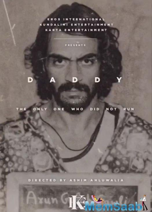 Arjun Rampal's Daddy motion poster is out now.