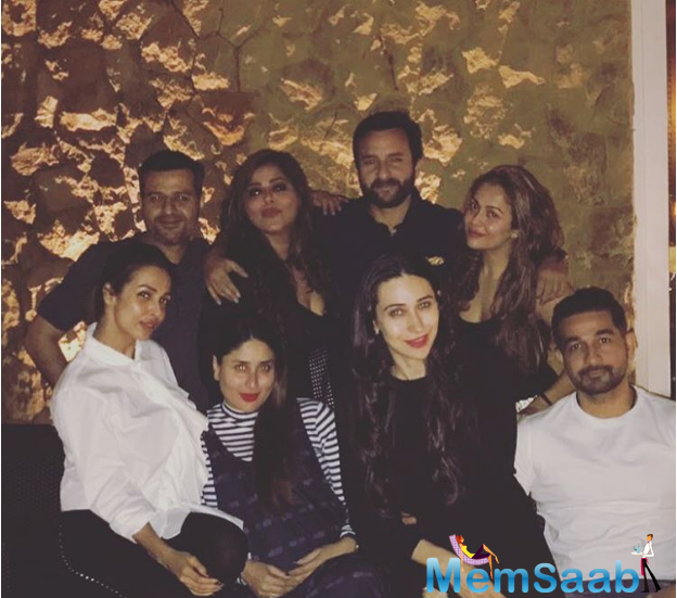 Iulia returned to India quite recently. After weeks of their break-up rumors, Iulia's return and now these pics will put a lid on it.The celebs apart from having a bash at the party, posed for star-studded photo shoots