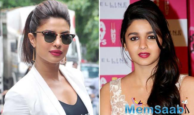 Alia Bhatt, who is currently struggling for a better career, said Priyanka Chopra is an inspiration.